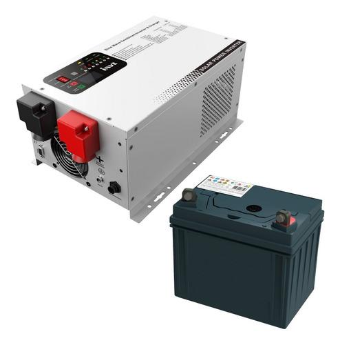 Inversor Solar Bateria Para Ups Industrial 3kw 24v Mppt Invt