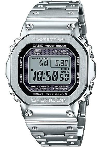 Relógio G-shock Gmw-b5000d-1dr Tough Solar E Bluetooth + Nfe
