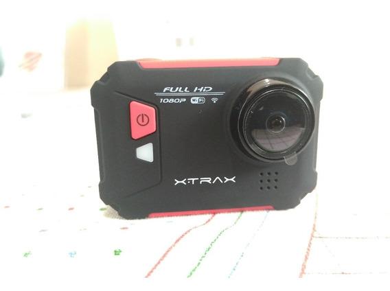 Kit Câmera De Ação Xtrax Evo + Bastão De Selfie Xtrax (x)