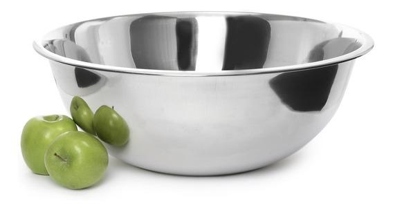 Bowl Ensaladera De Acero Inoxidable Reposteria 24 Cm