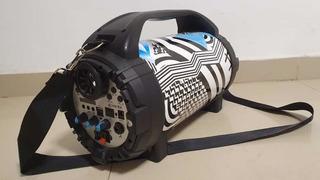 Parlante Portatil Karaoke Stromberg Kazz Ds-12 Usb Bluetooth
