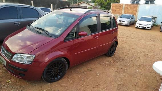 Fiat Idea, Rebaixado Com Suspensão A Rosca Aro 15