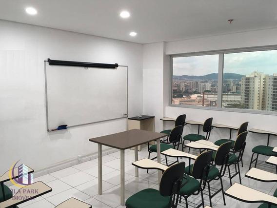 Sala Para Alugar, 37 M² Por R$ 1.200/mês - Continental - Osasco/sp - Sa0054