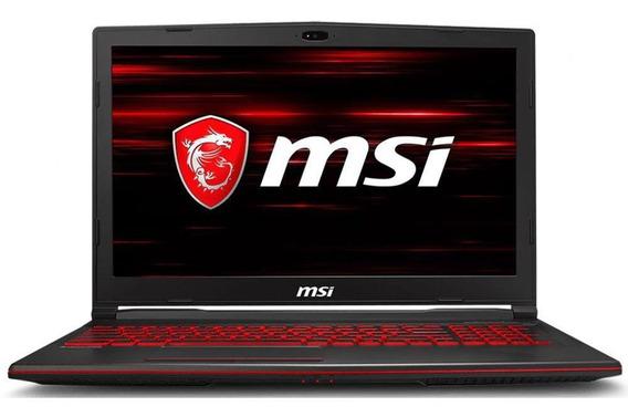 Notebook Gamer Msi Intel I7 2.2ghz 8gb 256gb Gtx 1050 Ti 4gb