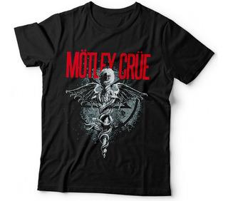 Remera Motley Crue Heavy Metal Glam Hard Rock Samcro Dtg 5