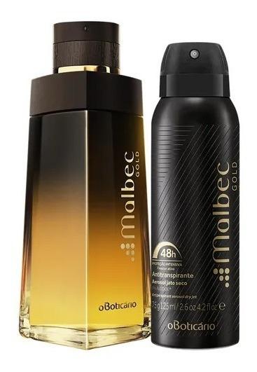 Perfume Masculino Malbec + Malbec Gold Mi_