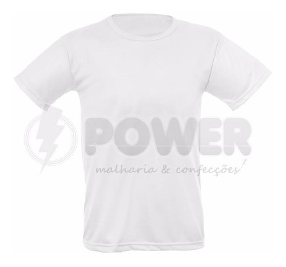 Lote Com 25 Camisas Para Sublimação Brancas