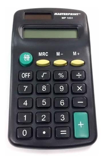 Calculadora Manual 8 Dígitos Mp 1031