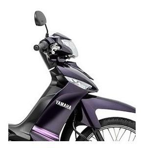 Carenagem Crypton Frontal Roxo 100% Original Moto Yamaha