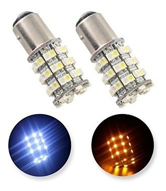 Luces Led 12v Ámbar / Cambio De Color Blanco 6000-7500k