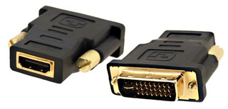 Adaptador Dvi-macho Hdmi-hembra Para Usar Con Cable Hdmi_