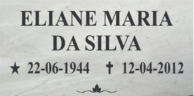 Placa Em Mármore Granito Lápide Túmulos Jazigo 10x25