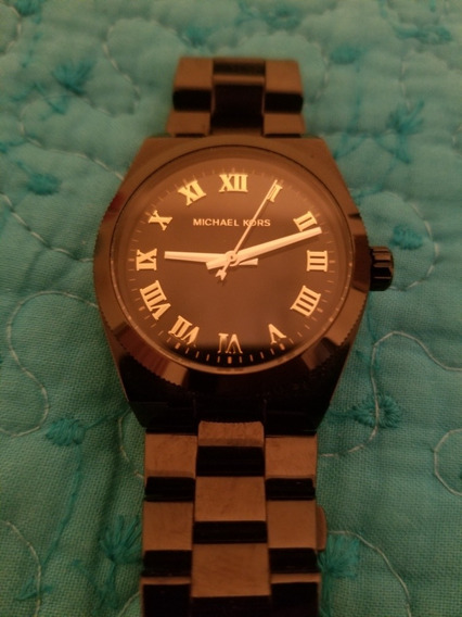 Reloj Michael Kors Negro Hombre
