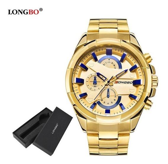 Relógio Original Masculino Longbo Barato