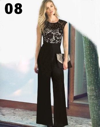 7c178b249 Macacão Feminino Pantalona Longo Para Festas Lindos Modelos - R$ 149,00 em  Mercado Livre