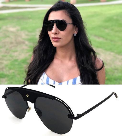 Oculos De Sol Premium Feminino Evolution Máscara