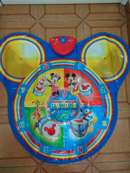 Tapete Musical, Interativo E De Atividade Mickey - Disney
