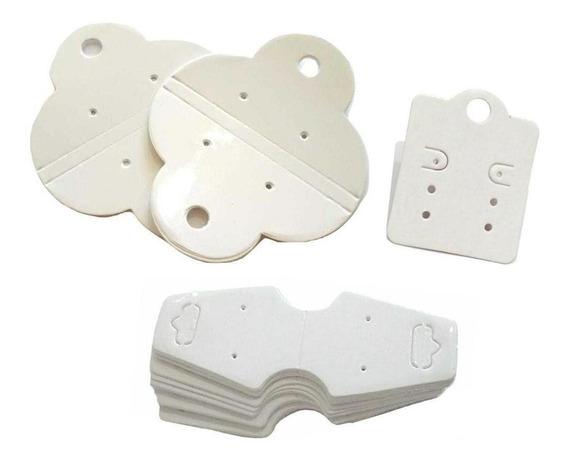 Kit 150 Unidades Tag Para Biju 3 Modelos Branco