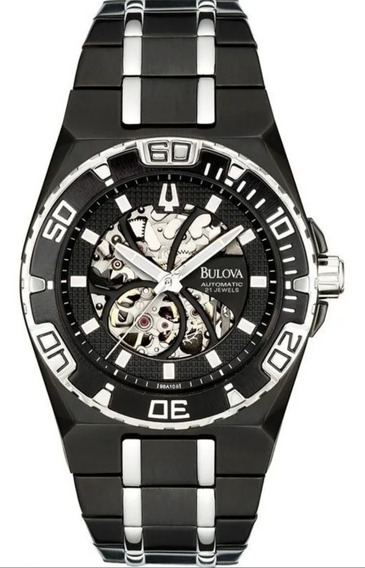 Relógio Bulova Automático 98a108/ Confira Imbatível