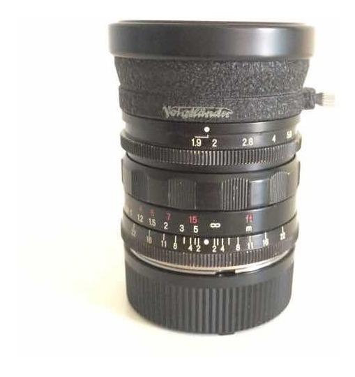 Lente Voigtlander 28mm 1.9 Utron Semi-nova Óptica Perfeita