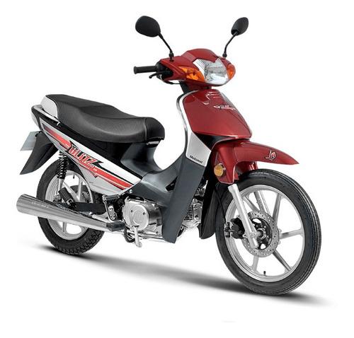 Motomel Blitz Full Con Alarma 110 V8 Gris 2021 0km Ap Motos