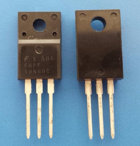 Transistor Mosfet Fqp10n60c Fqpf10n60c Fqpf 10n60c Original