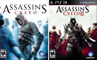 Assassins Creed 1 Y 2 Ps3 Assassin S Ps3