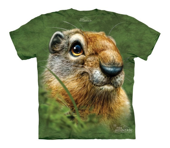 Playera 4d - Unisex Infantiles - 3583 Ground Squirrell.