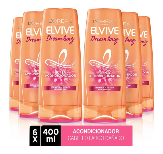 Pack 6x Acondicionador Elvive Dream Long 5 L