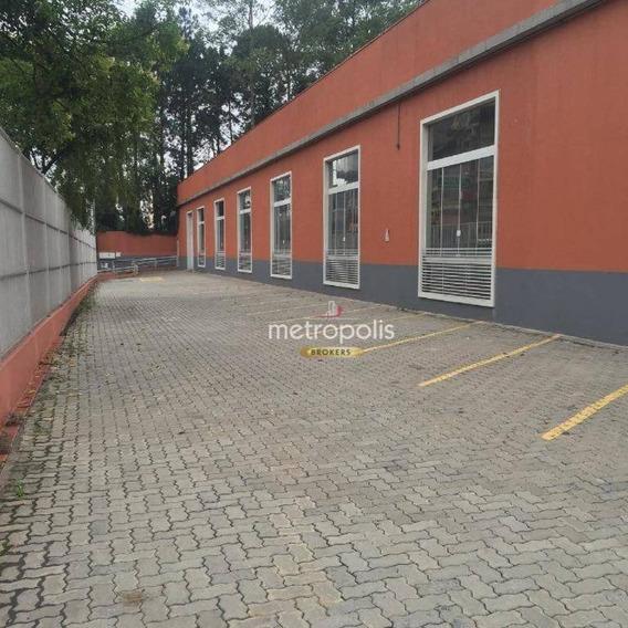 Galpão Para Alugar, 824 M² Por R$ 13.500/mês - Demarchi - São Bernardo Do Campo/sp - Ga0098