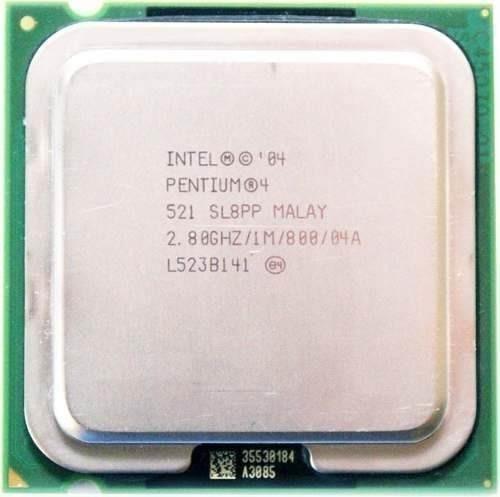 Kit 6 Processador 775 Pentium 4 Ht - Mod 521 2.8ghz /1m /800