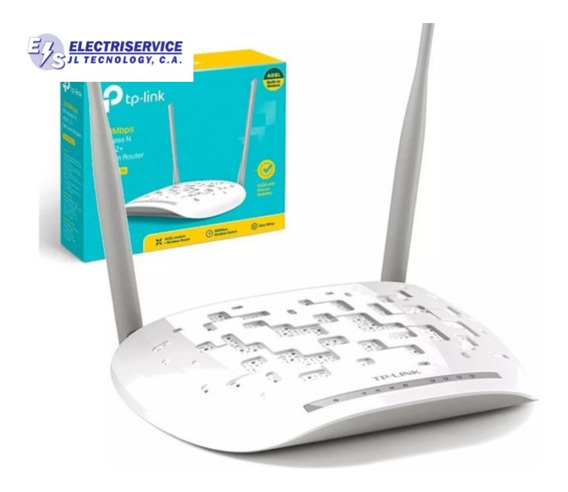 Modem Router Adsl2 Cantv Aba Dos Antenas Tp-link Td-w8961n