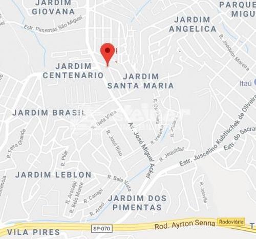 Imagem 1 de 5 de Venda Terreno Até 1.000 M2 Jardim Santa Maria Guarulhos R$ 195.000,00 - 33305v