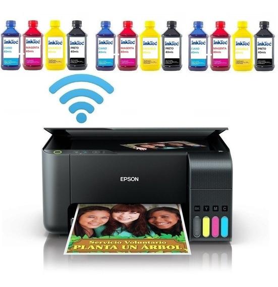 Impressora Sublimática L3150 Wifi + Papel Transfer + Perfil