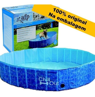 Piscina Para Cachorro G Afp Chill Out Cães -600 L.