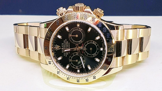Rolex Daytona Ouro Amarelo - 30 Mil Dolares - Zerado