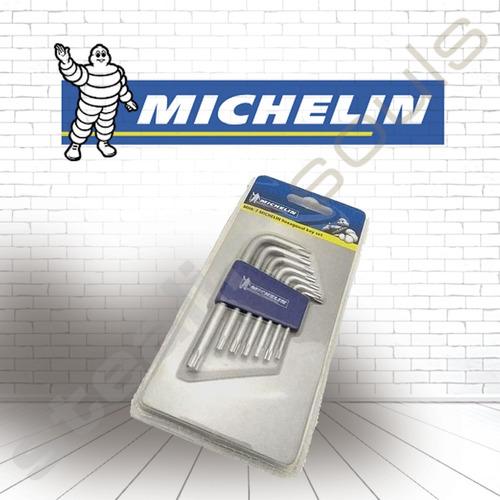 Michelin | Set | Llaves Allen / Hexagonales | 8 Unidades