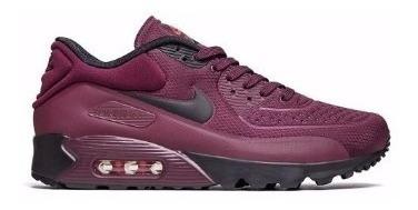 Air Max 90 Marsala Nike Menino Tênis Nike Violeta escuro