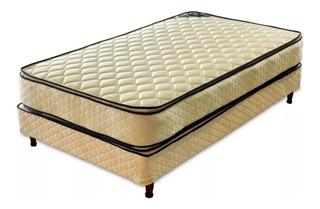Sommier Piero Bahia 1 plaza 190x80cm beige