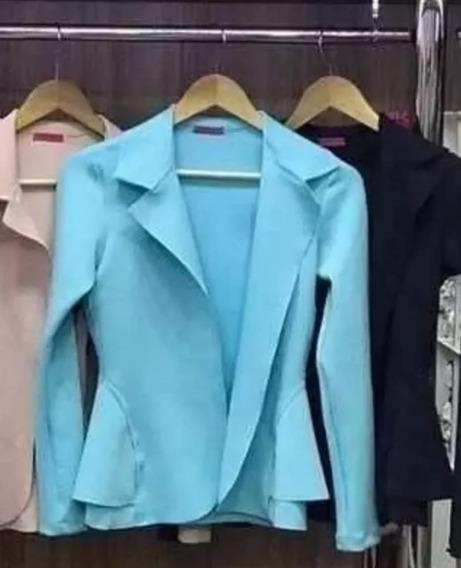 Kit 10 Blazer Neoprene Terninho Feminino Inverno 2018