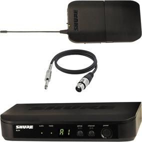 Transmissor P/ Instrumentos   Shure   Sem Fio   Blx14 Br J10