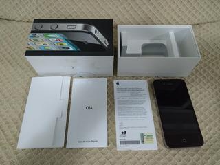 iPhone 4 Preto 8gb Com Defeito Não Liga