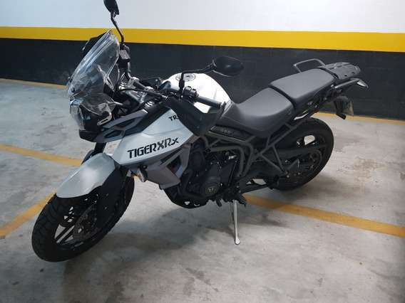 Tiger 800 Xrx Branca Linda Moto