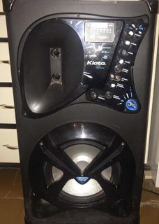 Parlante Kioto Usb Sd Remoto Radio Bluetooth