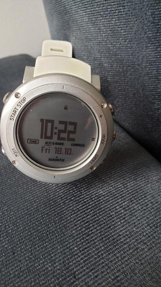 Relógio Computador De Pulso Suunto Core Alu Pure White