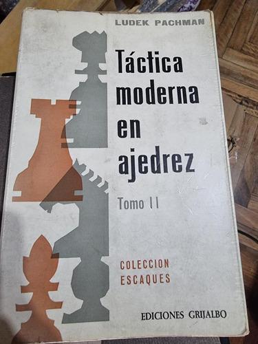 Libro Ajedrez - Tactica Moderna En Ajedrez Ii (pachman)