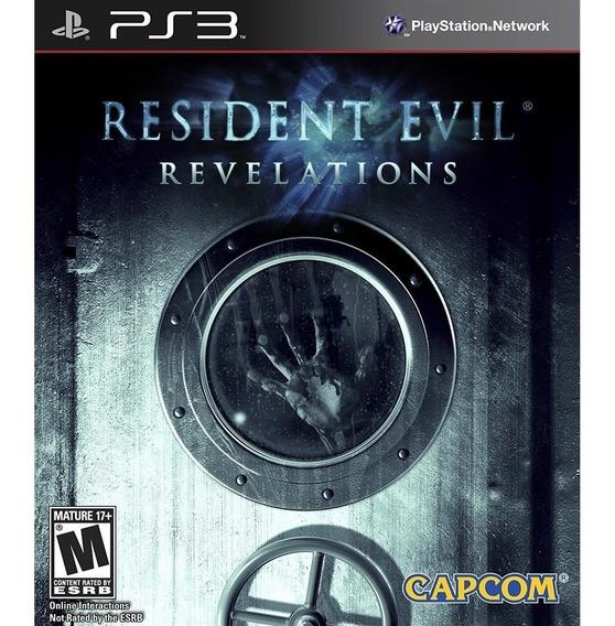 Resident Evil Revelations - Playstation 3 - Envio Hoje
