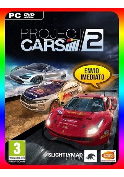 Project Cars 2 Pc Steam Key (envio Já)