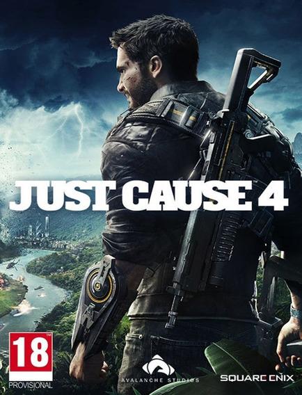 Just Cause 4 Pc - Steam Key (envio Rápido)