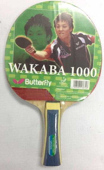 Raqueta Pin Pon Butterfly Wakava 1000 Sy Co29